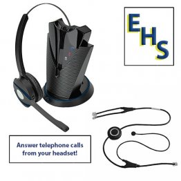 Armor Liberté Mono Wireless Headset Bundle for Avaya 9600 Series Telephones